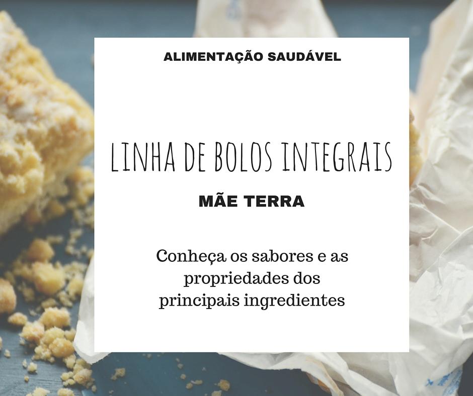 LINHA DE BOLOS INTEGRAIS MÃE TERRA